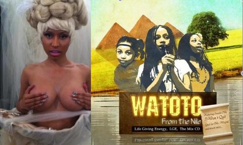 Nicki Minaj vs Watoto